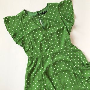 Banana Republic polka dot dress